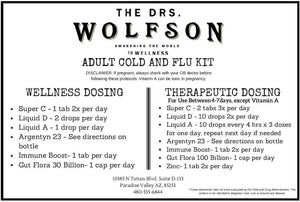Adult Cold and Flu Kit
