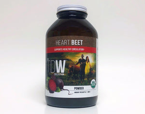 Organic Heart Beet Powder for Blood Pressure and Circulation