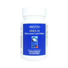 Load image into Gallery viewer, DHEA 25mg Micronized Lipid Matrix 60 scored tablets