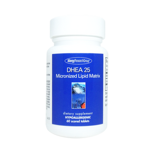 DHEA 25mg Micronized Lipid Matrix 60 scored tablets