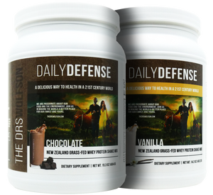 Buy Two - Daily Defense Grass Fed Whey Protein Shake