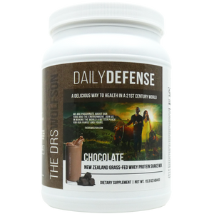 Buy Three - Daily Defense Grass Fed Whey Protein Shake