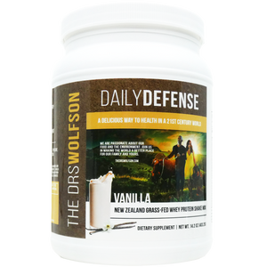 Daily Defense Grass Fed Whey Protein Shake