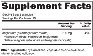 Magne 5 - Five Unique Forms of Magnesium - CURRENTLY UNAVAILABLE PLEASE SEE SUBSTITUTION