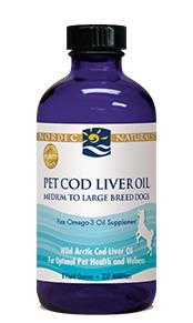NORDIC (Pet Cod Liver Oil/Plain 8oz)