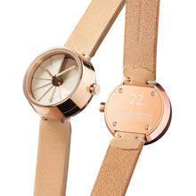 Load image into Gallery viewer, 22Studio 4D Concrete Watch 30mm Milktea Edition