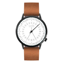Load image into Gallery viewer, Gustave Montre 24H White - Brown Leather