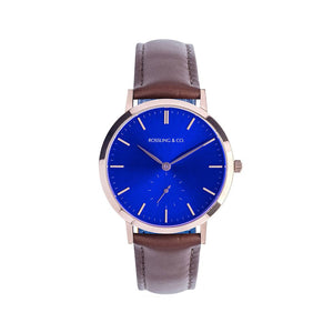 Rossling & Co. Modern 36 mm - Gold / Leather