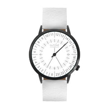Load image into Gallery viewer, Gustave Montre 24H White - White Leather