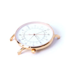 Load image into Gallery viewer, Gustave Montre Louis White & Rose Gold - Light Pink Leather