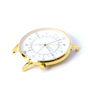 Gustave Montre Louis White & Gold - White Leather