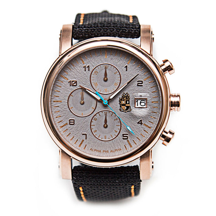 Stranger Chronolux – Alpha Rose Gold (Kevlar Strap)