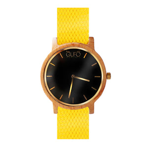 Gufo Black Moments Braided Giallo