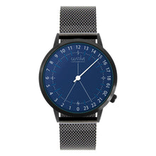 Load image into Gallery viewer, Gustave Montre 24H Blue - Black Milan