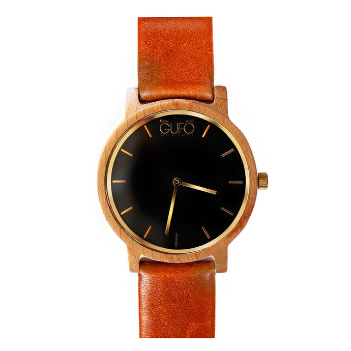 Gufo Black Moments Leather Brown