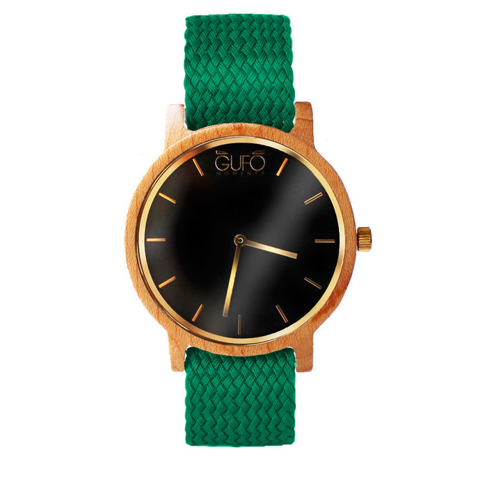 Gufo Black Moments Braided Green