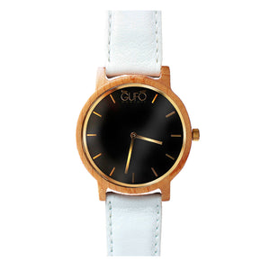 Gufo Black Moments Leather White