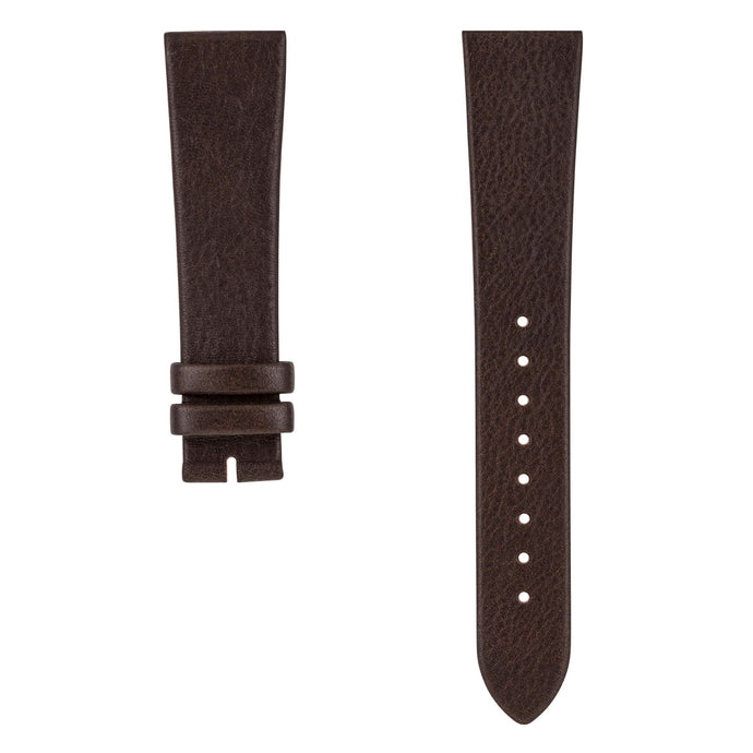 SE20/16-04 SWEDISH Dark Brown Reindeer Leather Strap | Squarestreet