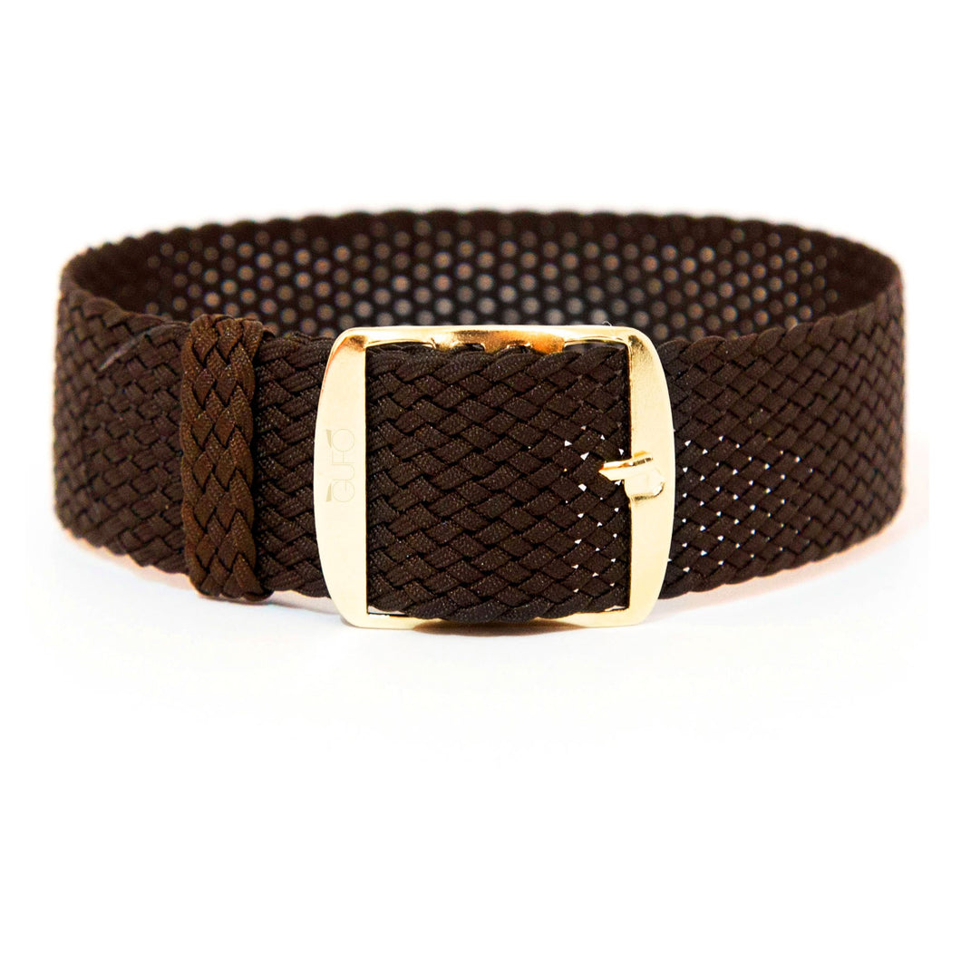 Braided Marrone Strap | Gufo