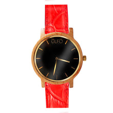 Load image into Gallery viewer, Gufo Black Moments Croco Red