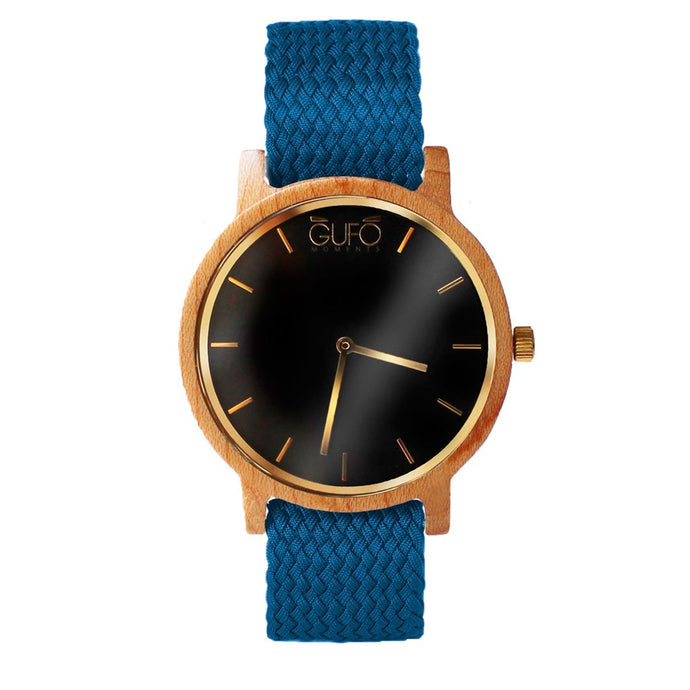 Gufo Black Moments Braided Blue