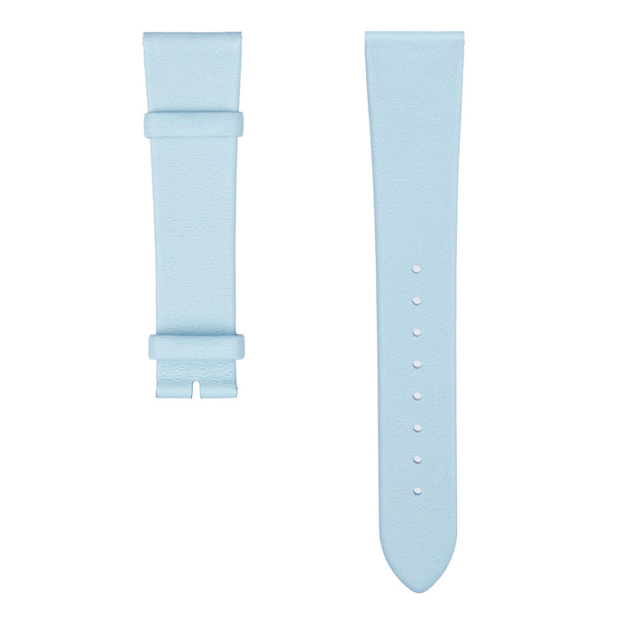 P. Blue Italian Leather Strap | Squarestreet