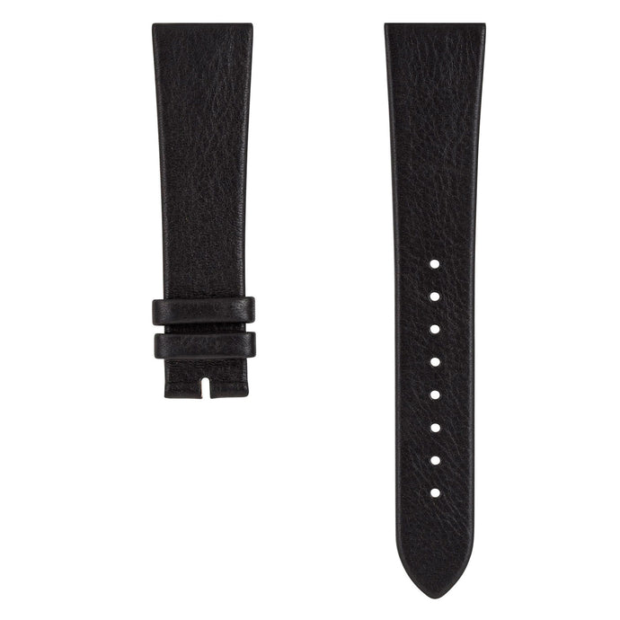 SE20/16-01 SWEDISH Black Reindeer Leather Strap | Squarestreet