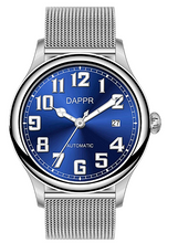 Load image into Gallery viewer, Dappr Vintage Pilot Automatic - Midnight Blue