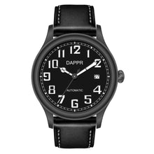 Load image into Gallery viewer, Dappr Vintage Pilot Automatic - Phantom Black