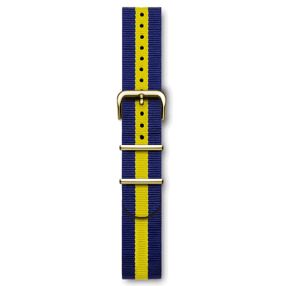 Nato Strap Blue And Yellow