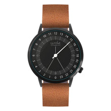 Load image into Gallery viewer, Gustave Montre 24H Black - Brown Leather