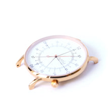 Load image into Gallery viewer, Gustave Montre Louis White & Pink Gold - Pink Gold Milan