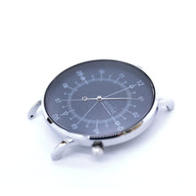 Load image into Gallery viewer, Gustave Montre Louis Blue & Silver - Blue Leather