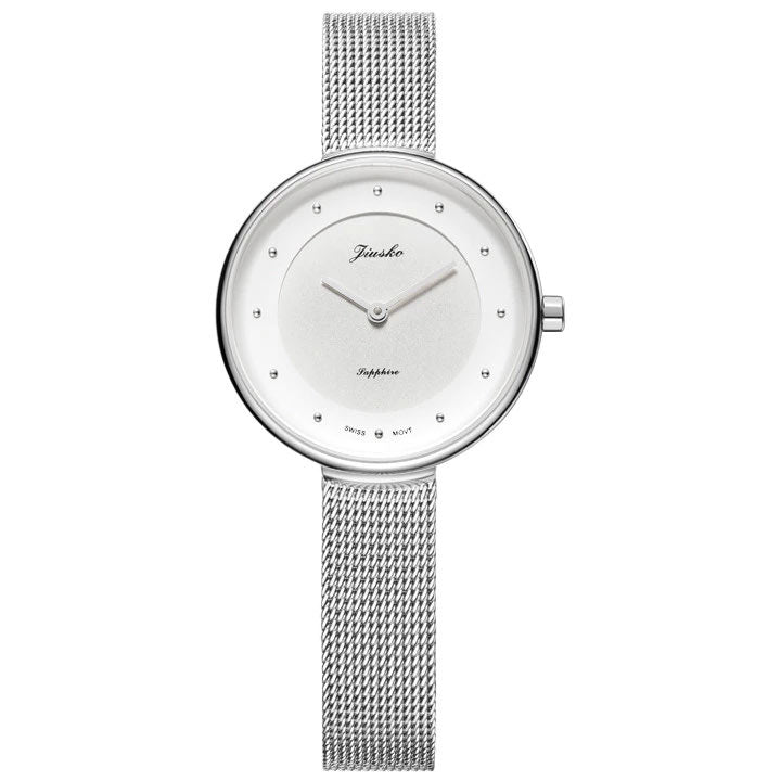 Jiusko Women's, Mesh Bands, Stainless-Steel, Quartz, 50M, 291S01