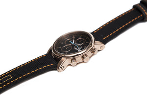Stranger Chronolux – Alpha Yellow Gold (Kevlar Strap)