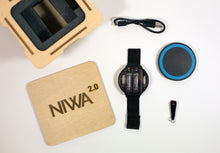 Load image into Gallery viewer, NIWA Nixie Watch 2.0 with wireless charge - Black