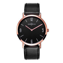 Load image into Gallery viewer, Nine Four Legend - Rose Gold/Black Dial/Black Strap