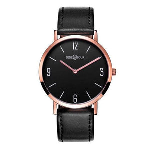 Nine Four Legend - Rose Gold/Black Dial/Black Strap
