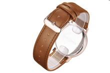 Load image into Gallery viewer, Nine Four Legend - Rose Gold/White Dial/Brown Strap