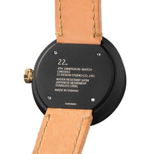 Load image into Gallery viewer, 22Studio 4D Concrete Watch 42mm Midnight Edition