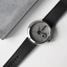 Load image into Gallery viewer, 22Studio 4D Concrete Watch Automatic Minimal Edition Stainless Steel Look