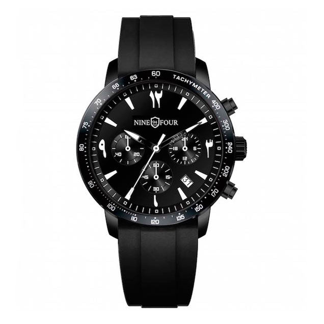 Nine Four Culture Chronograph Sport Arabic - Black/White