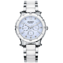 Load image into Gallery viewer, Jiusko Women's, Dress, Ceramic, Stainless-Steel,Quartz, 50M, 83LSY01