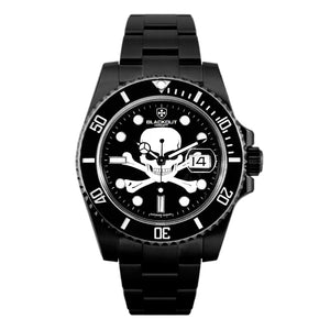 Blackout Concept Ocean Master H2 Skull Automatic