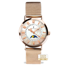 Load image into Gallery viewer, Colomer & Sons Clotilde II Rose Gold Milanesa