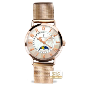Colomer & Sons Clotilde II Rose Gold Milanesa