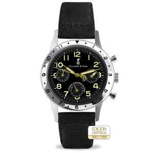 Colomer & Sons Vintage Pilot Chrono