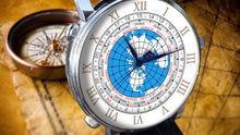 Load image into Gallery viewer, Colomer & Sons Worldtimer Silver