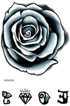 Black Rose nature FIT ME TATTOO Fit Me Tattoo, tatouage éphémère, tatouage temporaire