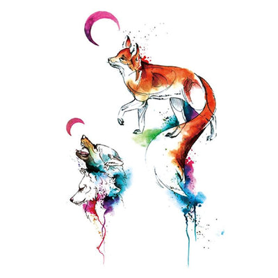 Forest Call animaux FIT ME TATTOO Fit Me Tattoo, tatouage éphémère, tatouage temporaire